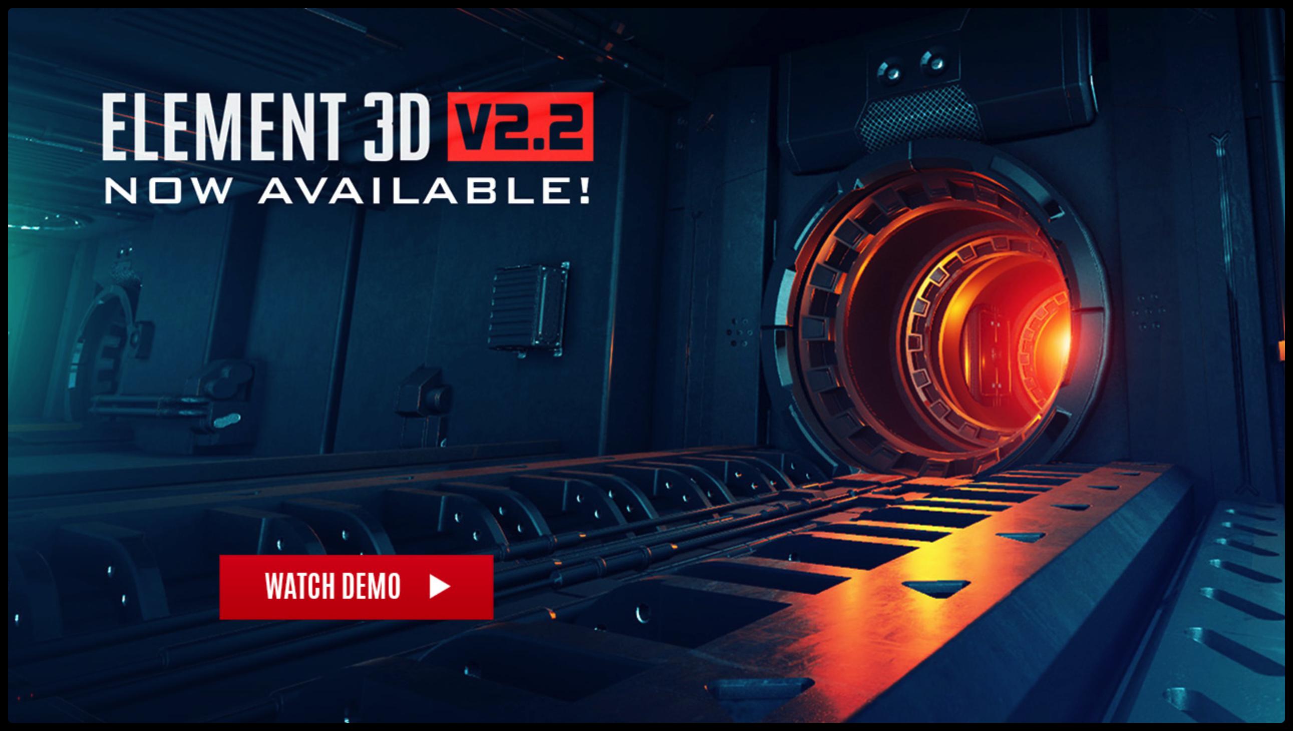 [AE插件]-E3D Element 3DV2.2.2-2169 汉化版插图