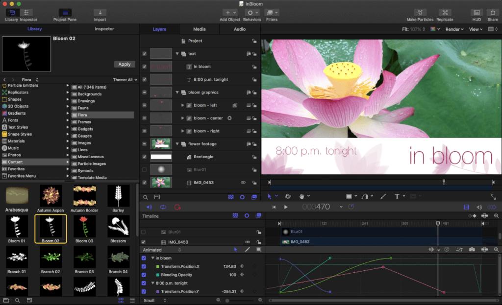 Apple Motion 5.5.1 免费下载 中英文版 苹果视频剪辑软件插图
