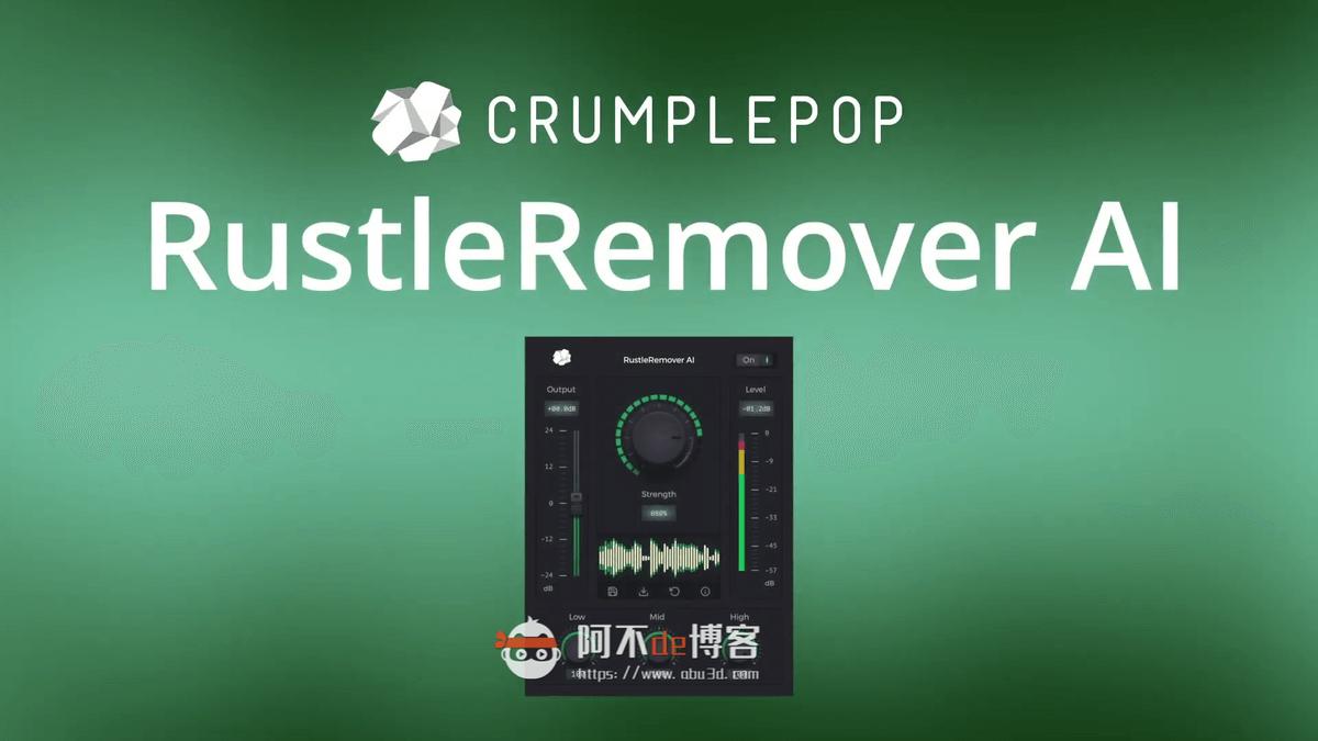 失效-fcpx+pr+Au 自动动态调整平衡音频音量 CrumplePop Levelmatic插图