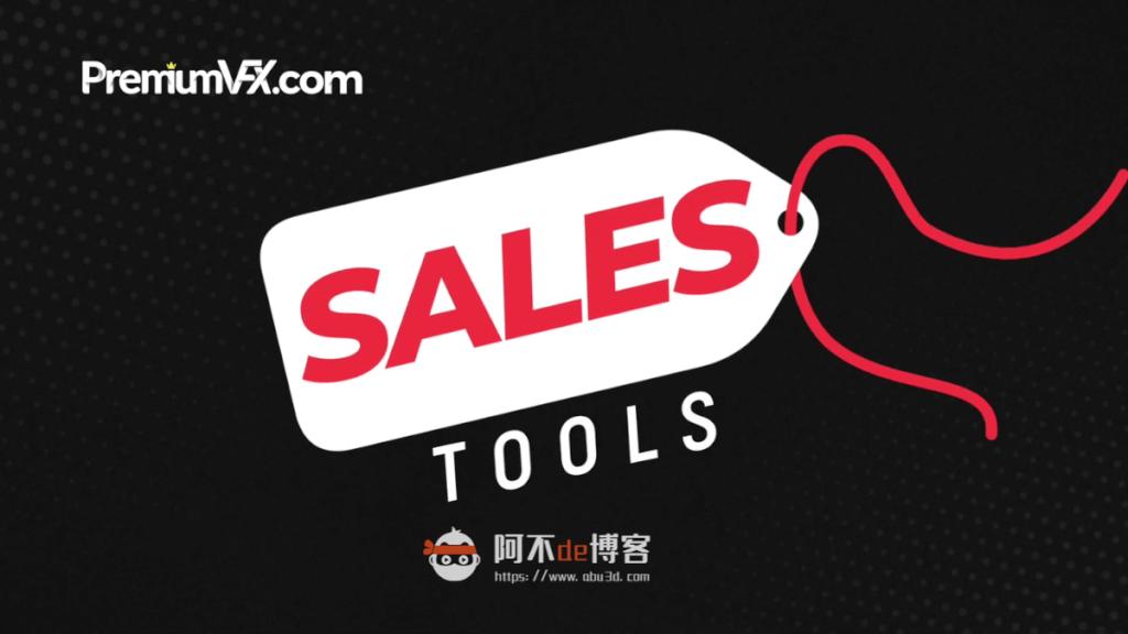 FCPX插件-商品促销类 60组商品推广促销标签场景动画模板 支持M1 PremiumVFX Sales Tools插图