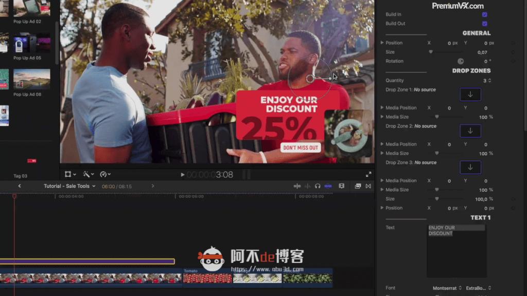 FCPX插件-商品促销类 60组商品推广促销标签场景动画模板 支持M1 PremiumVFX Sales Tools插图2