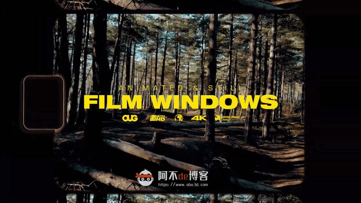 视频素材 65+复古胶片划痕漏光闪烁边框叠加特效合成素材 the Essential Video Editors插图8