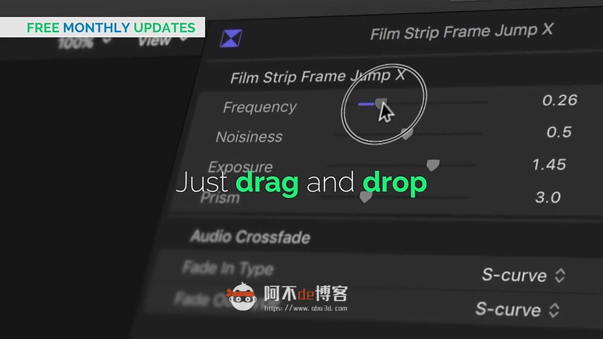 FCPX插件-插件包1450个4K水墨图形遮罩视频转场调色预设文字标题光效+转场音效素材AleFX V7.2插图2