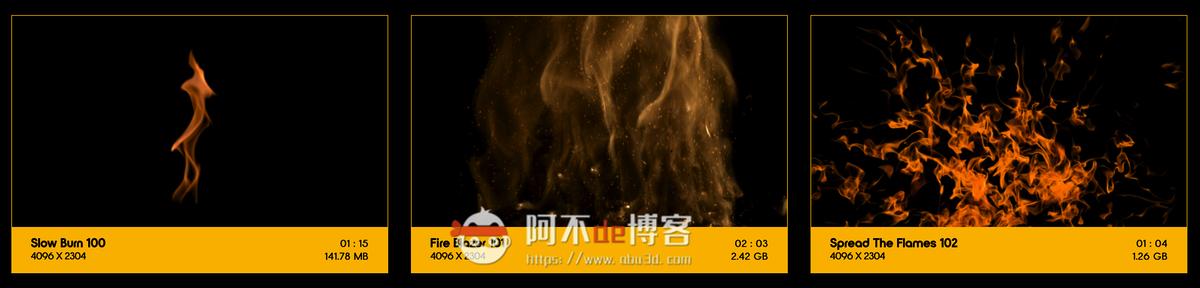 视频素材 BusyBoxx V01 Fire Power 102组真实火焰燃烧特效合成动画特效合成素材插图11