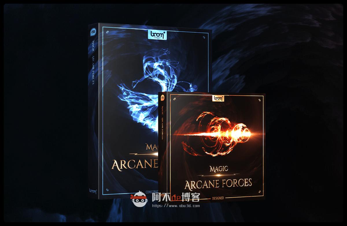 音效素材 782个能量魔法特效冲击波神秘奇幻大气动作场景音效 Arcane Forces插图