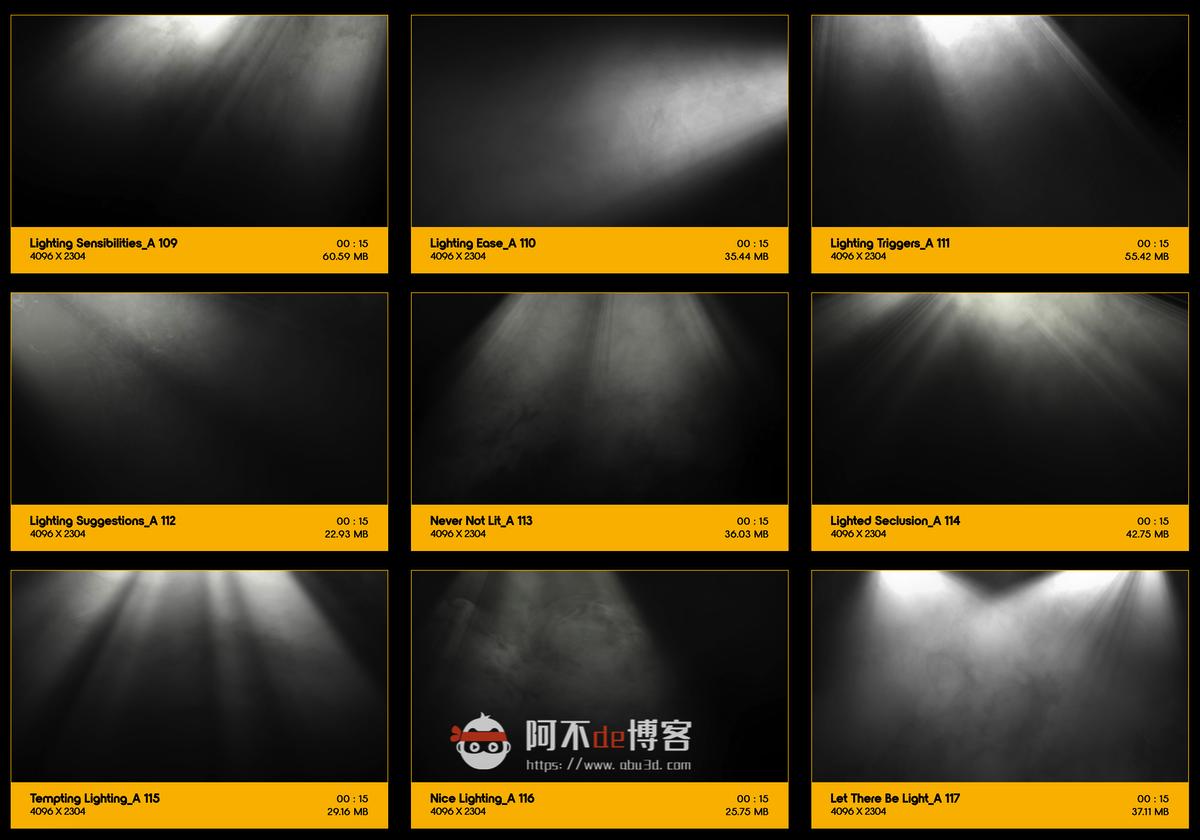 视频素材 BusyBoxx V18 Rays Of Light 176组体积光聚光灯光线照射动画 特效合成素材插图12